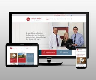 Evans & Hearn Website