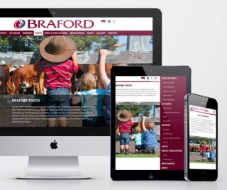 Australian Braford Society Website